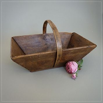 Lovely french rustic trug
