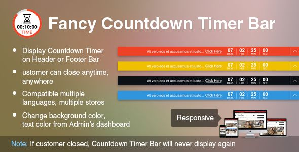 awesome Download Prestashop Fancy Countdown Timer Bar Module