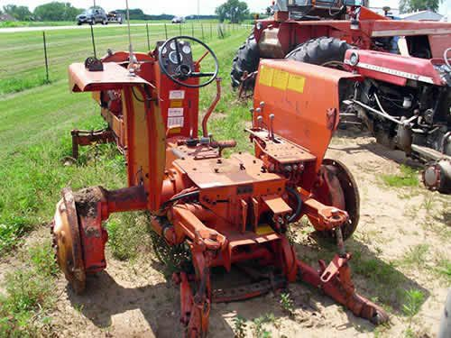 Tractor Equipment Salvage Yards : Allis chalmers tractor salvaged for used parts call