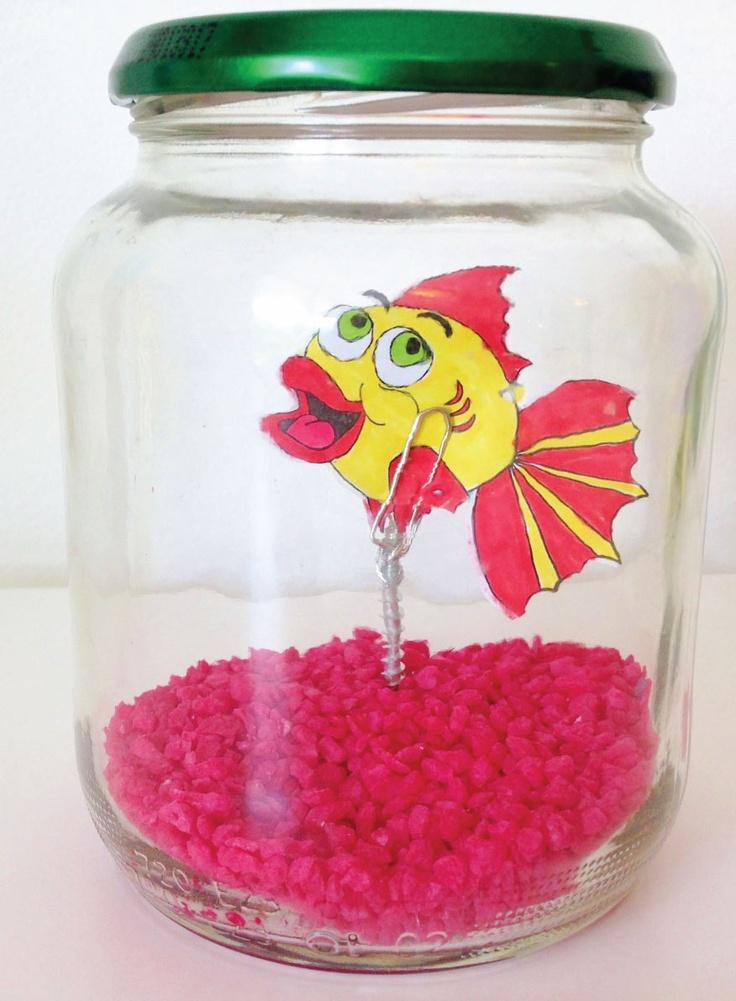 Vissenkom - knutselen