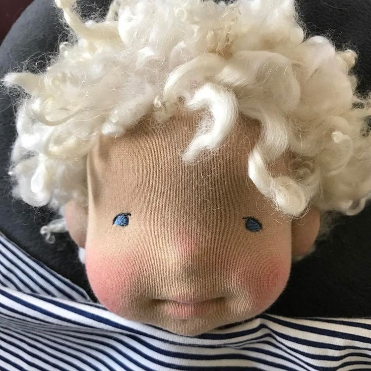 This little guy is my latest custom doll. So happy to be creating another boy #evergreenbaby #evergreenbabydolls #naturalfibers #naturalfiberartdoll #naturalartdoll #needlefelting #needlesculpted #customdoll #wip #wensleydalelocks #woollocks #clothdoll #dollcollector