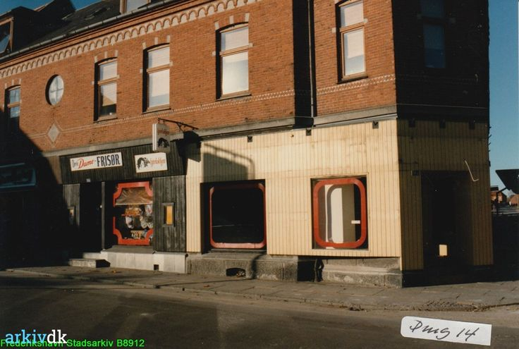 arkiv.dk   Danmarksgade 14, Damefrisør Hårlokken, Frederikshavn 1986