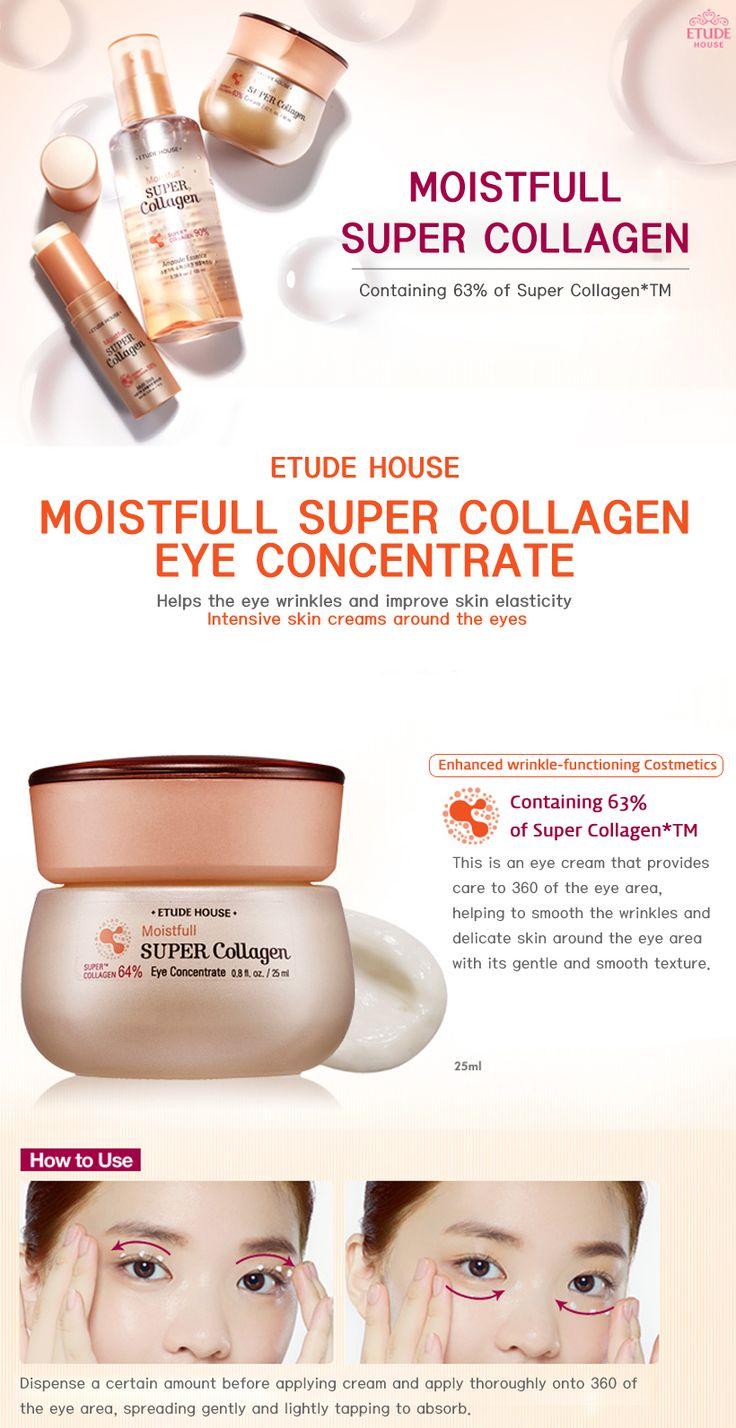 Etude House Moistfull Super Collagen Eye Concentrate 25ml - Etude House Beautynetkorea Korean cosmetic