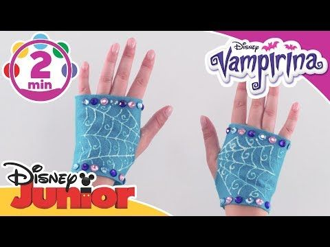 Vampirina | Halloween Tutorial: Vampirina's Gloves | Disney Junior UK - YouTube