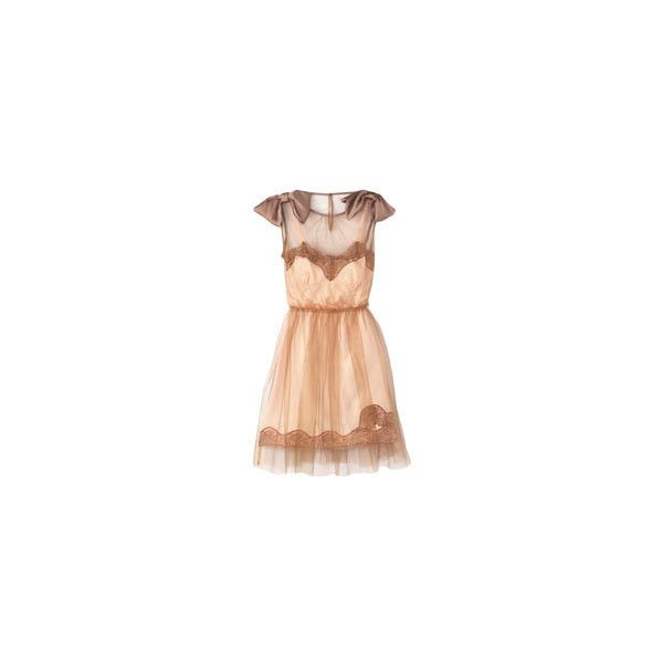 Rodarte for Target tulle dress ❤ liked on Polyvore
