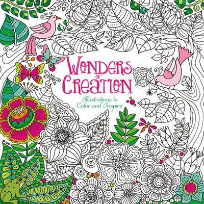 Wonders Of Creation Adult ColoringColoring BooksColouringBook