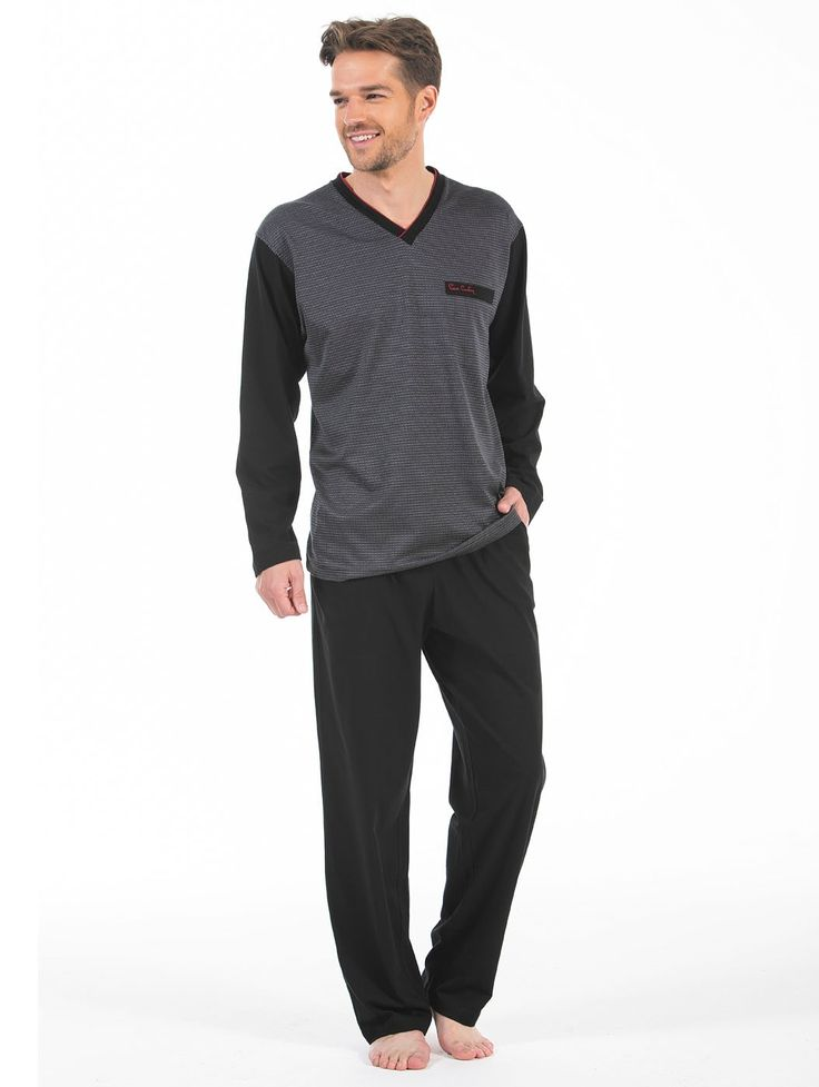Pierre Cardin 5226 Erkek Pijama Takım   Mark-ha.com #markhacom #hediye #pierrecardin #erkekmodası #pijama #stylish #fashion #newseason #yenisezon #trend #moda