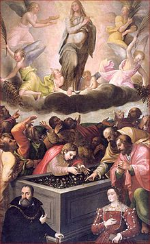 Assomption de Marie Fermo Ghisoni da Caravaggio