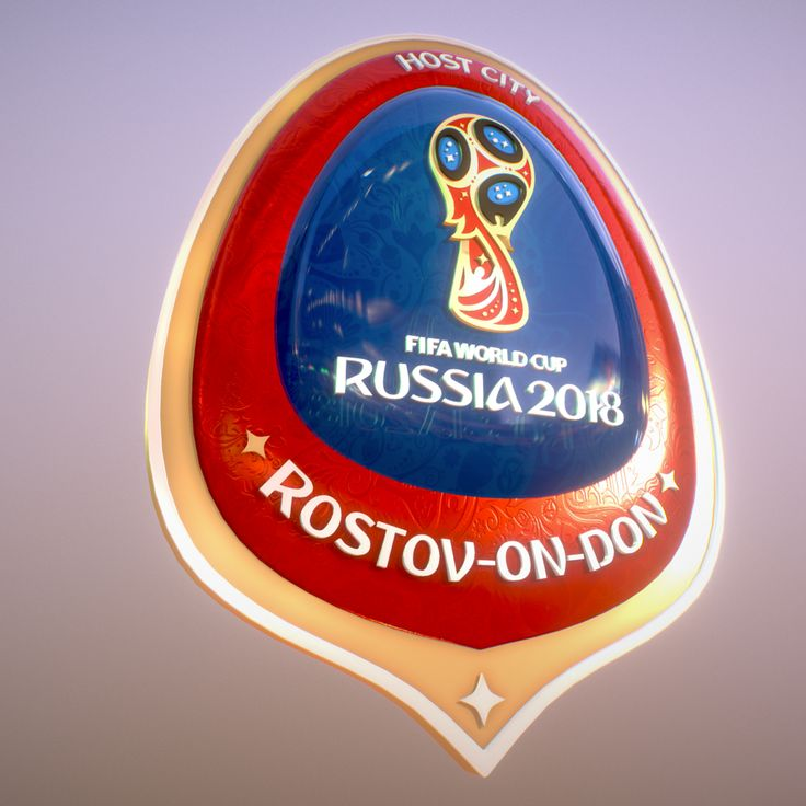 Rostov On Don Host City World Cup Russia 2018 3D Model- Rostov On Don Host City World Cup Russia 2018  All 3d file format included: 3dsMax2016, Maya2016, OBJ, FBX file. 2x4K texture size.   Official symbol World Cup Russia 2018 host city !!!!!!!, a beautiful 3D model of the corporate style of the championship. Ready for use in graphics and video presentations, also for making souvenirs and gifts. Includes all the 3d formats, textures, materials. Rate and leave comments. Thank you…