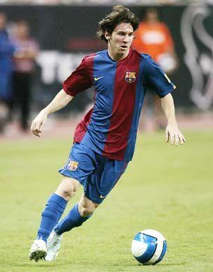 Leo Messi hace unos añitos