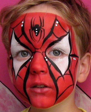Trucco Carnevale Spiderman Bambino 2015
