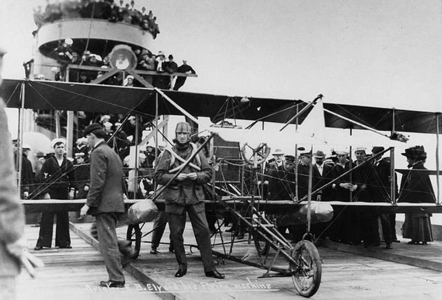 101-years ago is a very long time.  Yet in the very hierarchy of these modern marvels, the ability to recover and launch aircraft from the deck of a moving ship stands out as one of our most signature of his accomplishments.  Which just goes to show you: Some tricks never grow old.