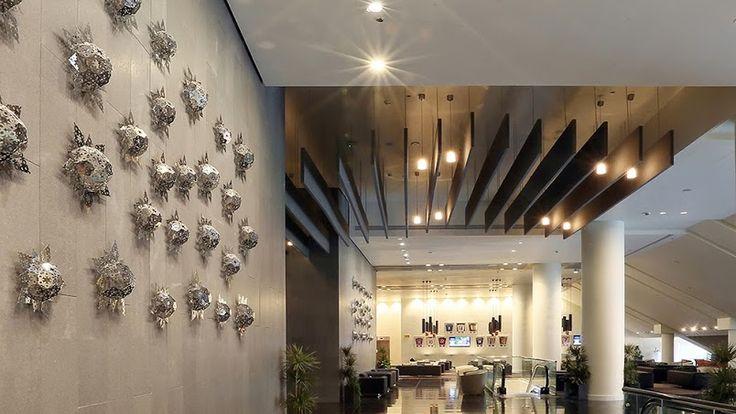 Onepluszero - stainless steel laser cut wall sculpture