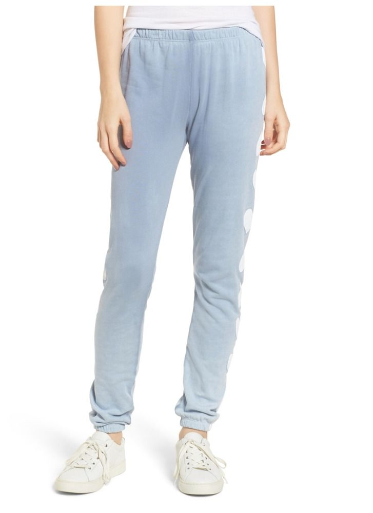 dcd1f485777bf WILDFOX COUTURE Heart Of Hearts Lounge Sweatpants Light Blue Pants L $118  #Wildfox #Lounge #Casual