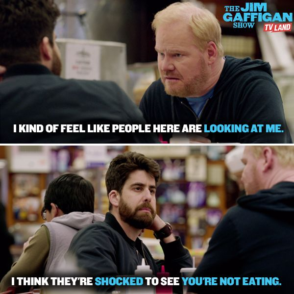 Dave has a point. Click to catch up on season one of THE JIM GAFFIGAN SHOW on TV Land starring Jim Gaffigan.