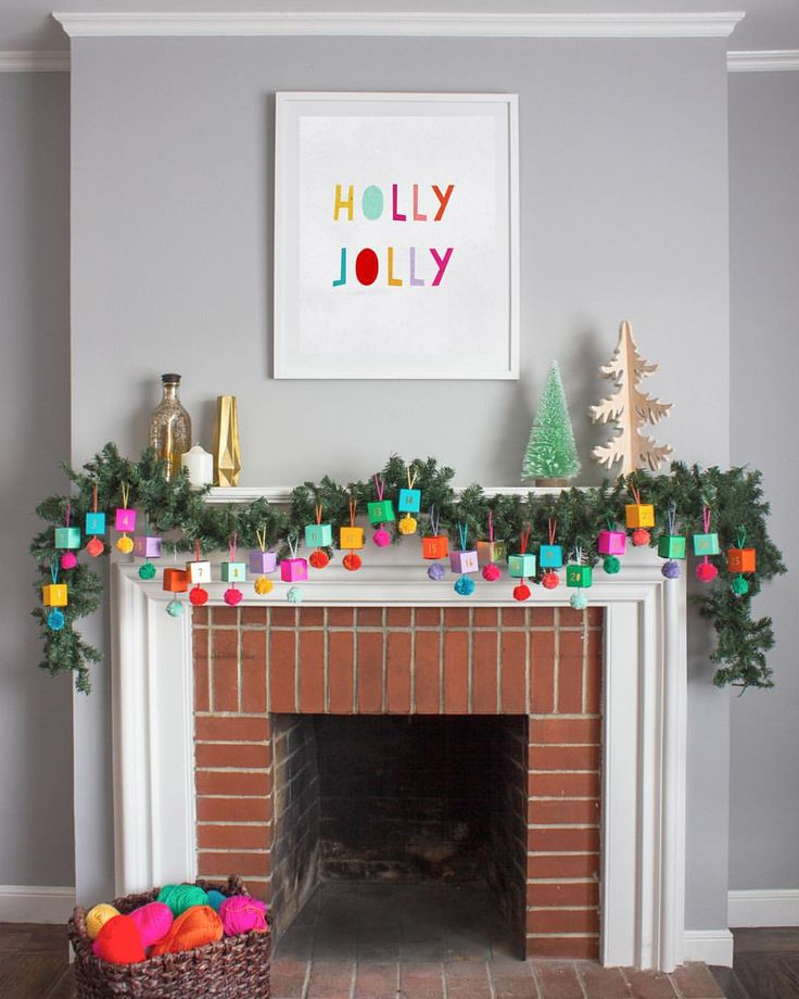 Did you see our Pompom Advent Calendar? On www.ohhappyday.com today!