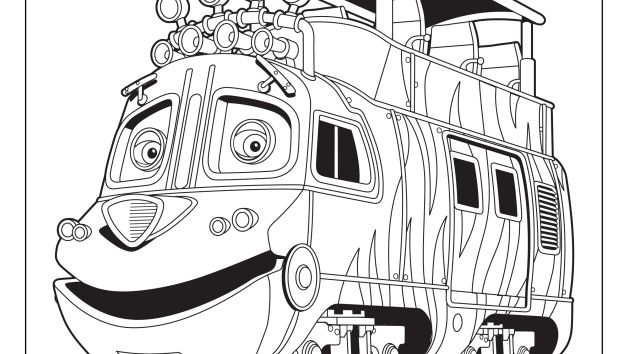 Chuggington coloring pages and crafts disney junior ep for Disney chuggington coloring pages