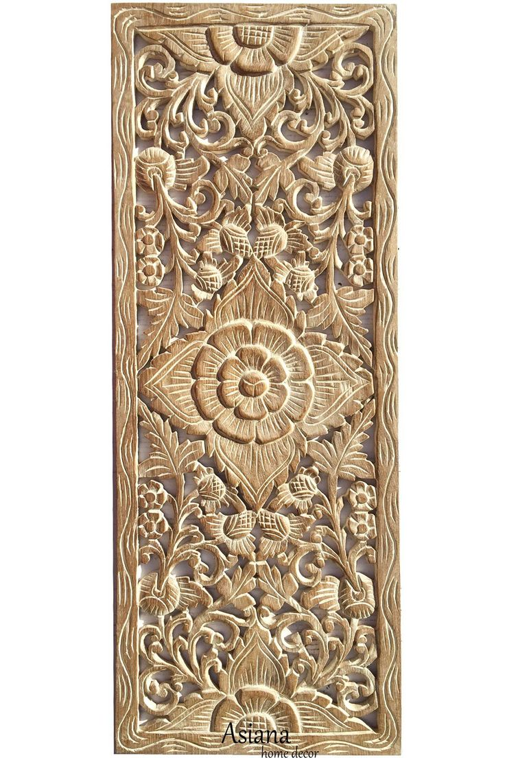 Carved Wood Wall Art Decor Simple Best 25 Carved Wood Wall Art Ideas On Pinterest  Chrysalis House Design Ideas