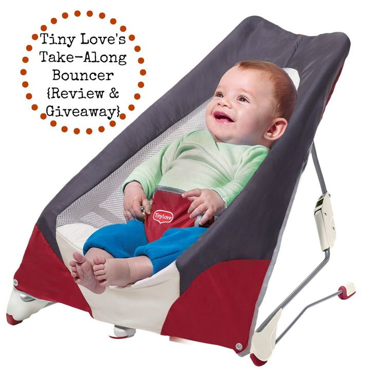 Tiny Love's Take-Along Bouncer ~ perfect for families on the go!