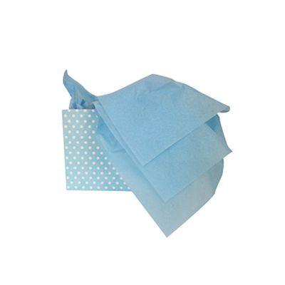 - Mavi Pelür Süs Kağıdı