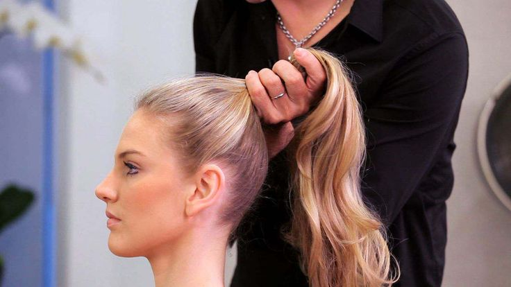 Learn how to do a high ponytail from Pierre Michel Salon style director Jerome Lordet in this Howcast hair tutorial.
