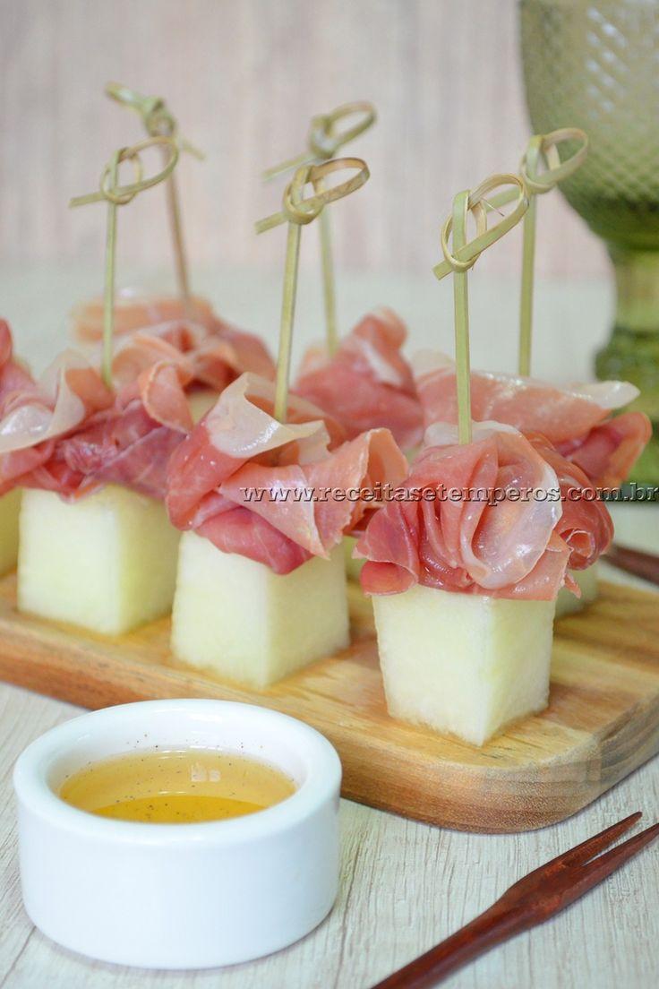 Melão com presunto Parma                                                                                                                                                                                 Mais