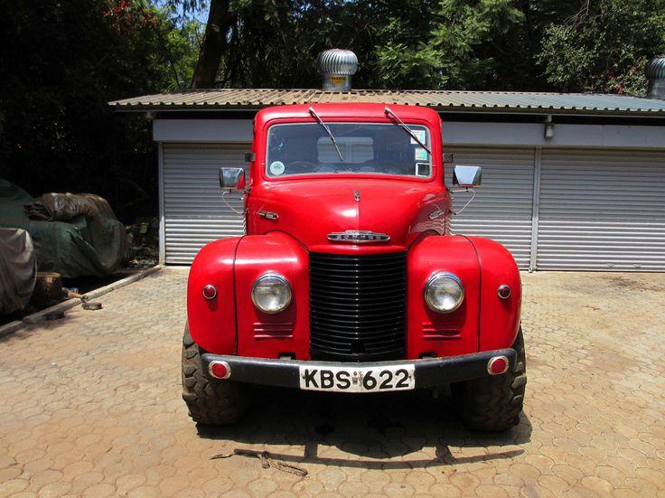 Commer 1950. In Kenya.