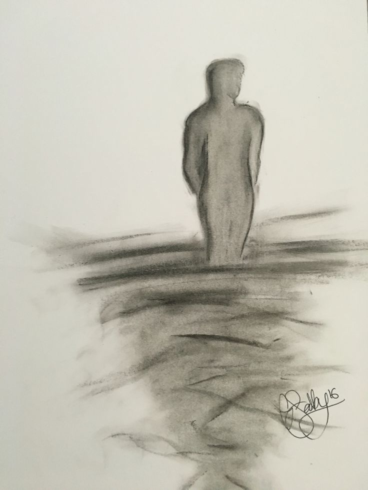 faceless; part four - oil pastels