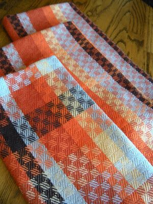 Thistle Rose Weaving: Warming Towels