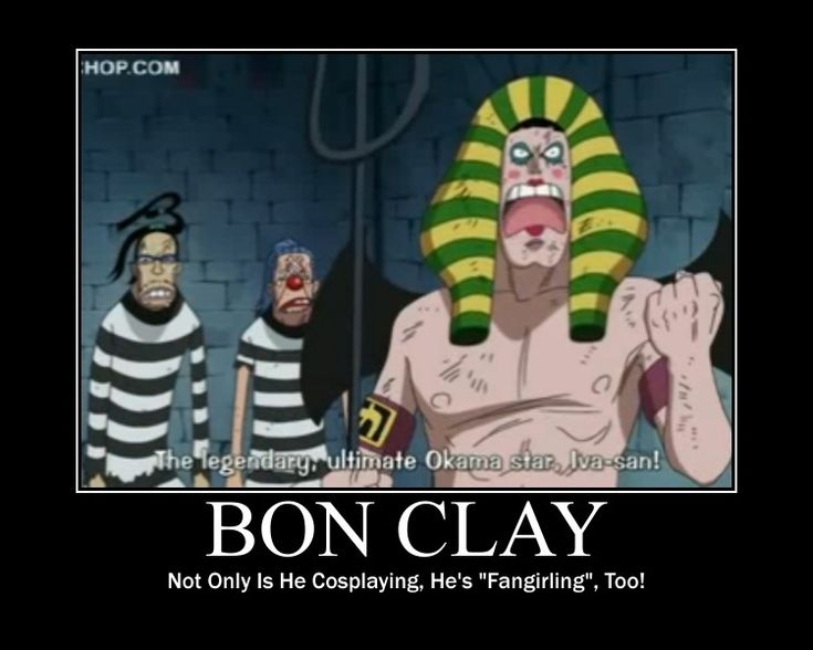 Tags: Anime, ONE PIECE, Mr. 2 Bon Clay, Buggy the Clown, Mr. 3, Prison Outfit…