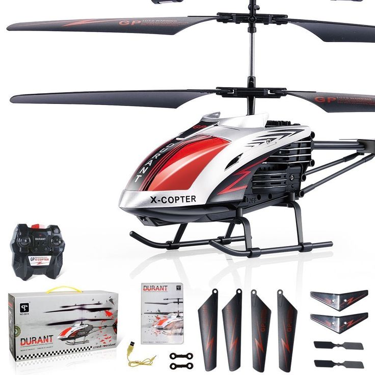 "Amazon.com: GPTOYS G610 11"" Durant Built-in Gyro Infrared Remote Control Helicopter 3.5 Channels with Gyro and LED Light for Indoor Ready to Fly: http://amzn.to/2uMiQSV"