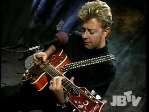 Brian Setzer - Mystery Train Live (rare video).avi