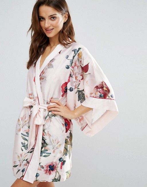 @tedbaker kimono, would love for bridesmaids on wedding morning #WedWithTed
