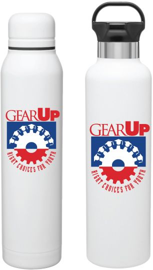 H2go Ascent  (12 color options) Matte white 25 oz powder coated double wall 18/8 stainless steel thermal bottle with copper vacuum insulation, threaded gear-shaped insulated lid, carrying handle, and high polish accent · patent pending. hot 12 hours / cold 24 hours  H2go Silo (12 color options) Matte white 16.9 oz double wall 18/8 stainless steel thermal tumbler with copper vacuum insulation, threaded insulated lid, and powder coated finish - retail gift box included. hot 12 hours / cold 24…