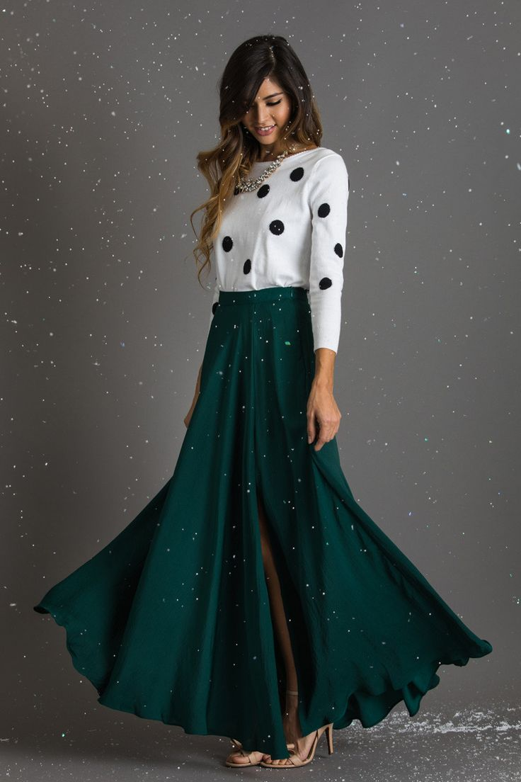 1000 ideas about green maxi skirts on green