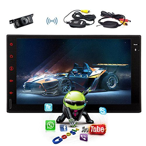 2016 GPS Navigation Android 4.4 QUAD-CORE WIFI Bluetooth Head Unit Auto Radio Car GPS Player support Wifi Bluetooth EQ FM/AM Car Stereo+ Wireless Camera. For product info go to:  https://www.caraccessoriesonlinemarket.com/2016-gps-navigation-android-4-4-quad-core-wifi-bluetooth-head-unit-auto-radio-car-gps-player-support-wifi-bluetooth-eq-fmam-car-stereo-wireless-camera/
