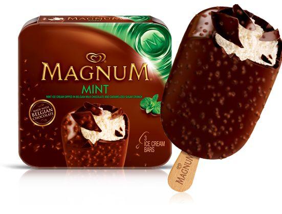 magnum mint ice cream bar eat more pinterest ice