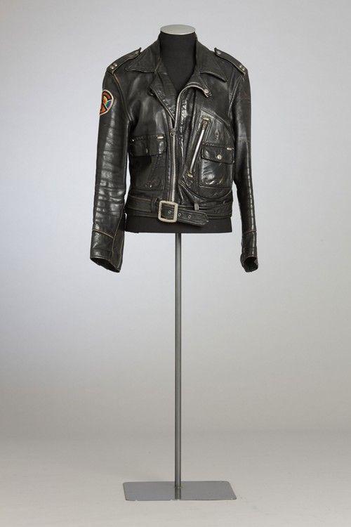 Martin Phillipps' leather jacket, 1986