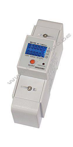 LCD numérique Compteur Compteur électrique wattmètre avec affichage multifonction et compteur de Jour pour montage sur rail avec interface…