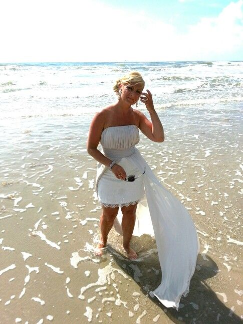 Renewal Wedding Dresses For The Beach : Beach year vowel renewal born to th