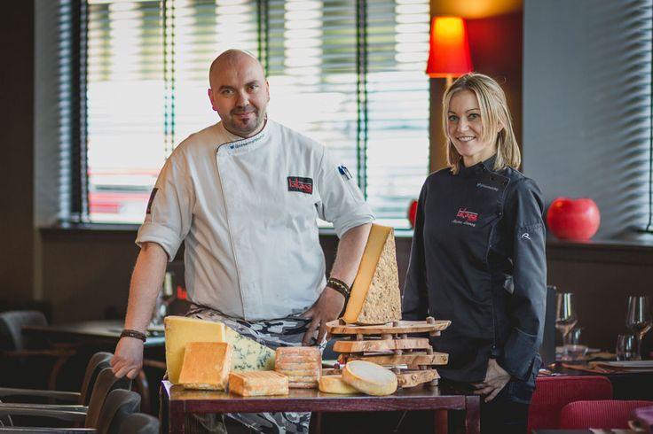 Marina, César y el queso.