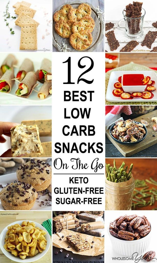12 Best Low Carb Snacks On The Go (Keto, Gluten-free, Sugar-free)