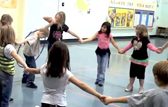 10 Fun Team-Building Activities For Kids | ACTIVE My favorite is #4 Pass the hula hoop! These are great for beginning of the school year!