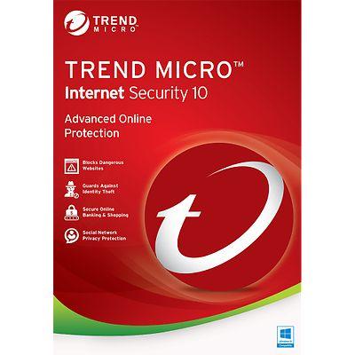 Trend Micro Titanium Internet Security 2017 1year 1pcs / Premium Reseller