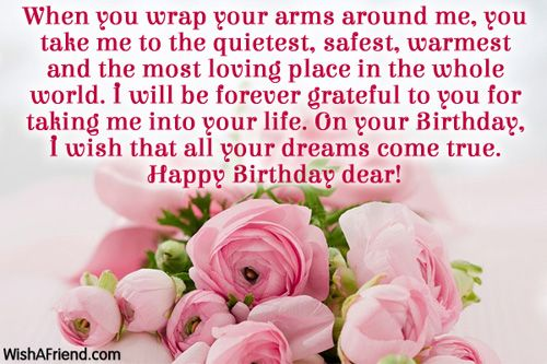 Husband Birthday Messages - Page 2