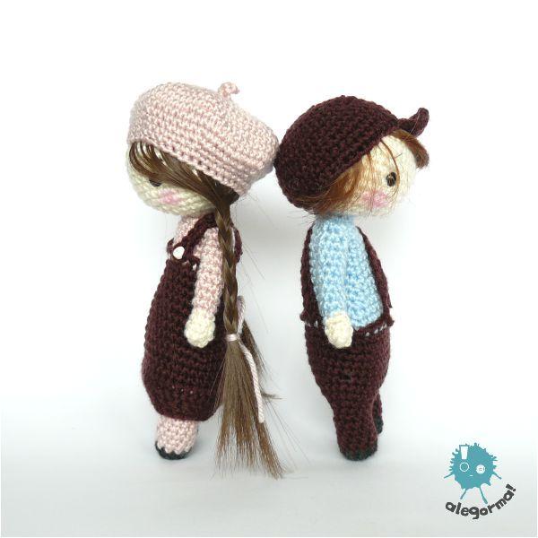 www.alegorma.com/sklep #alegorma #amigurumi #szydełkowce #crochet #jaśimałgosia #dolls