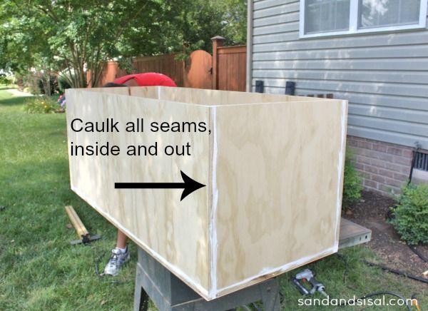DIY Outdoor Storage Box   BenchBest 25  Outdoor storage boxes ideas on Pinterest   Outdoor  . Outside Storage Boxes Wooden. Home Design Ideas