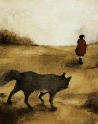 La caputxeta vermella. Jacob i Wilhelm Grimm. Sopa de contes. Editorial Barcanova. 2003. Il.lustracions: Carmen Segovia./// [img203.jpg]