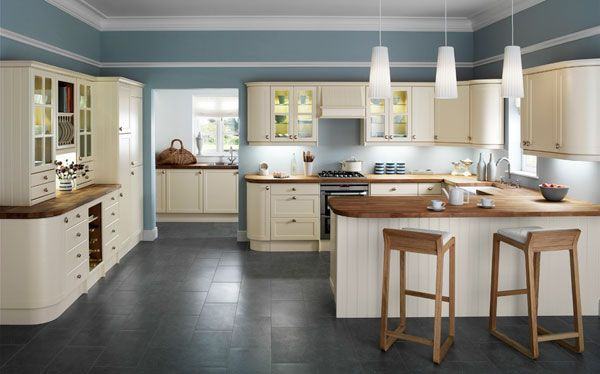 What about a country #kitchen? This is a shaker kitchen- the most popular style of kitchen