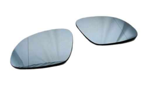 Blue Tinted Aspherical Side Mirror Glass Tiguan Mk1 In 2019